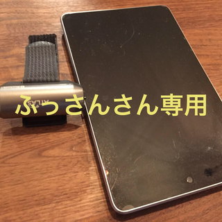 ユピテル(Yupiteru)のゴルフスイングチェック モーションセンサ & タブレットnexus7セット(その他)