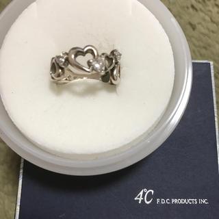 ヨンドシー(4℃)の4°Cシルバーリング*silver*ハートジュエリー(リング(指輪))