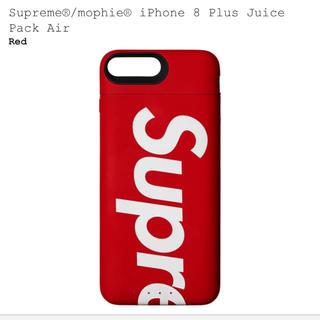 シュプリーム(Supreme)のsupreme iPhone 8 plus juice pack air(バッテリー/充電器)