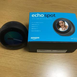 エコー(ECHO)のamazon echo spot エコースポット(スピーカー)