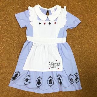 ディズニー(Disney)の不思議国のアリス ワンピース☆コスプレ衣装Dハロディズニーハロウィンプリンセス(衣装一式)