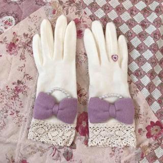 スイマー(SWIMMER)の新品 swimmer スイマー メルヘン 手袋(手袋)