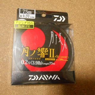 ダイワ(DAIWA)の月下美人 アジング用PEライン(ルアー用品)