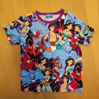 ディズニー(Disney)のアラジン総柄Tシャツ(Tシャツ/カットソー)