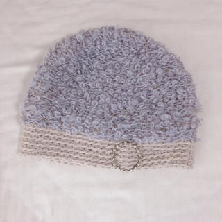 ミナペルホネン(mina perhonen)のミナペルホネン  mina perhonen  ヒトミシノヤマ ニット 帽子(ニット帽/ビーニー)
