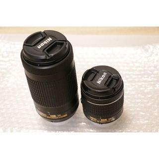 ニコン(Nikon)の●新品●ニコン レンズ2本セット 70-300mm、18-55mm(レンズ(ズーム))