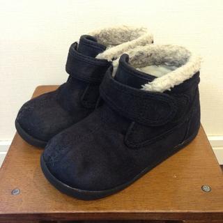 ムジルシリョウヒン(MUJI (無印良品))の無印良品 ボアブーツ 15.0cm(ブーツ)