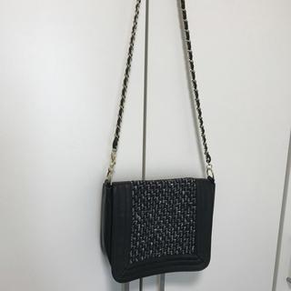 ジーユー(GU)のGU ジーユー☆新品 ツイード ショルダーバッグ ハンドバッグ チェーンバッグ(ショルダーバッグ)