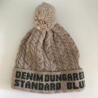 DENIM DUNGAREE - デニムダンガリー   ニット帽