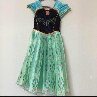 アナトユキノジョオウ(アナと雪の女王)のアナ ドレス ハロウィン(衣装)