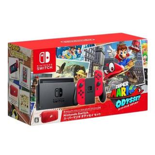 Nintendo Switch - [早い者勝ち]Switchオデッセイセットver (赤Joy-Con)