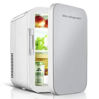 (新品未使用)ミニ 冷蔵庫 家庭車載両用 保温保冷 2電源式 携帯式 コンパクト(冷蔵庫)
