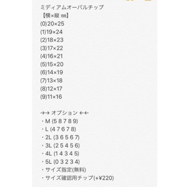 (54)新作【サイズ変更無料】 コスメ/美容のネイル(つけ爪/ネイルチップ)の商品写真