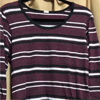 ジーユー(GU)のメンズ 七分袖(Tシャツ/カットソー(七分/長袖))