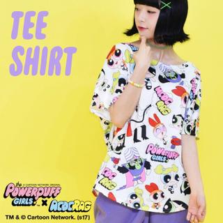 エーシーディーシーラグ(ACDC RAG)のパワパフ Tシャツ(Tシャツ(半袖/袖なし))