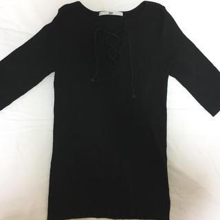 スライ(SLY)のSLY レースアップトップス(Tシャツ(半袖/袖なし))