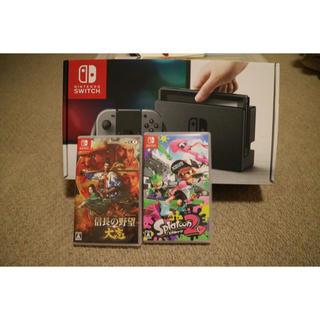 ニンテンドースイッチ(Nintendo Switch)の任天堂スイッチ スプラトゥーン 信長の野望(家庭用ゲーム本体)