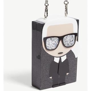 カールラガーフェルド(Karl Lagerfeld)のkarl lagerfeld ボックスバッグ(ショルダーバッグ)