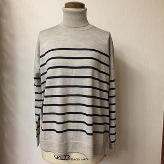 ムジルシリョウヒン(MUJI (無印良品))の無印良品 ウール100% タートルニット(ニット/セーター)