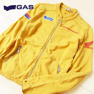 ガス(GAS)の超美品 Mサイズ GAS ガス レディース HONDA ジャケット イエロー(その他)