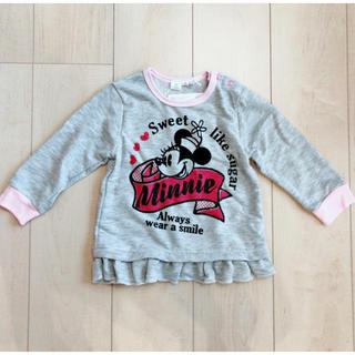 ディズニー(Disney)のミニー 長袖トレーナー(Tシャツ/カットソー)