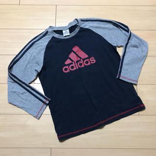 アディダス(adidas)のadidas☆長袖シャツ☆150cm☆アディダス☆ロンT(Tシャツ/カットソー)