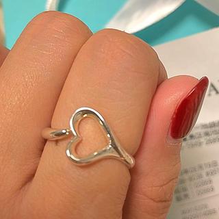 ティファニー(Tiffany & Co.)のティファニー オープンハート リング 13号(リング(指輪))