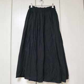 〖clothes〗コットンフレアロングスカート