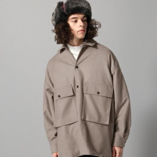 HARE(ハレ)のhare cpoシャツ メンズのジャケット/アウター(ミリタリージャケット)の商品写真