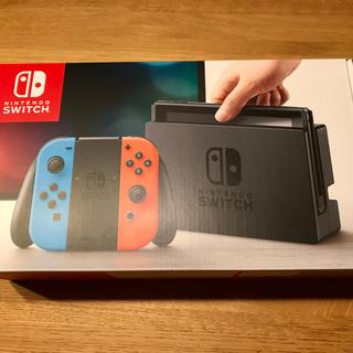 ニンテンドースイッチ(Nintendo Switch)の任天堂 switch 本体 未使用(家庭用ゲーム本体)