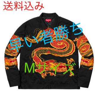 シュプリーム(Supreme)のDragon work jacket ドラゴンワークジャケット Mサイズ(Gジャン/デニムジャケット)