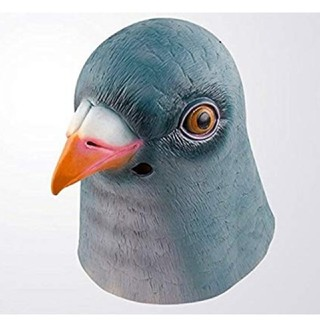 ハロウィン 仮装 鳥のかぶりもの