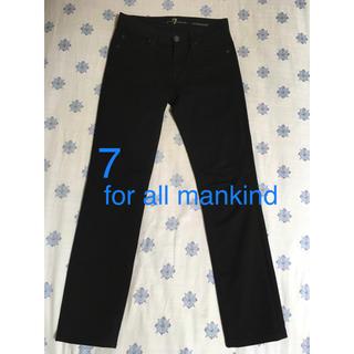 セブンフォーオールマンカインド(7 for all mankind)の7 for all mankind 黒 ブラック パンツ(カジュアルパンツ)