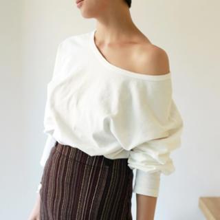 トゥデイフル(TODAYFUL)のOneshoulder Long Tee(Tシャツ(長袖/七分))