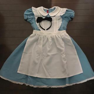 ディズニー(Disney)のアリス 子供用コスチューム ディズニー ハロウィン(衣装一式)