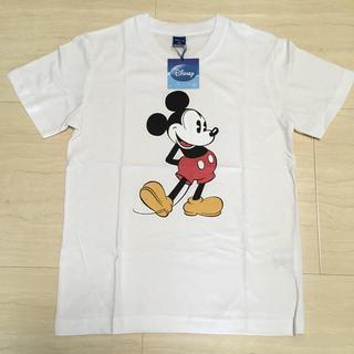 ディズニー(Disney)のミッキー スタンディングポーズ Tシャツ*140*新品*男女兼用 ディズニー(Tシャツ/カットソー)