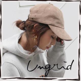 アングリッド(Ungrid)の【新品】コーデュロイキャップ(キャップ)