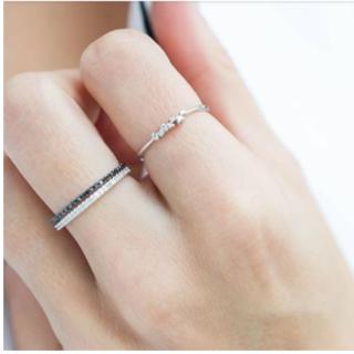 ドゥーズィエムクラス(DEUXIEME CLASSE)のDiamanti Per Tutti ダイヤ ハーフエタニティーリング 指輪(リング(指輪))