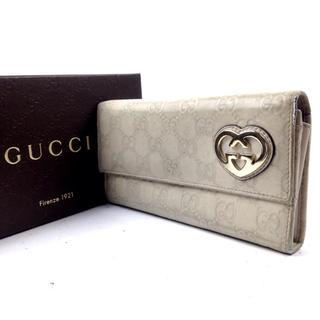 グッチ(Gucci)の☆早い者勝ち☆【GUCCI グッチ】 長財布 箱付き 正規品 475L22 58(長財布)