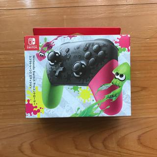ニンテンドースイッチ(Nintendo Switch)のニンテンドー プロコントローラー スプラトゥーン2(その他)