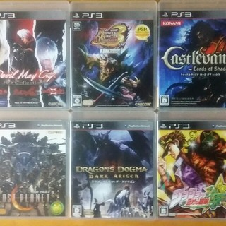 プレイステーション3(PlayStation3)のPS3 ゲームソフト 6本 まとめ売り(家庭用ゲームソフト)
