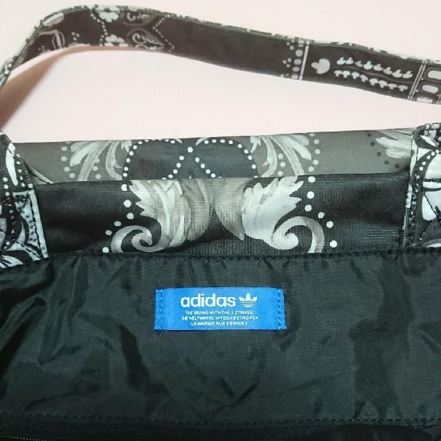 adidas(アディダス)のadidasオリジナルス,adidasトートバッグ,黒 メンズのバッグ(ショルダーバッグ)の商品写真