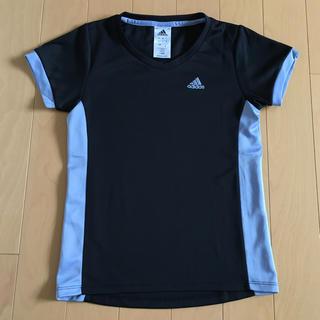 adidas - アディダス adidas Tシャツ S 黒 グレー CLIMALITE