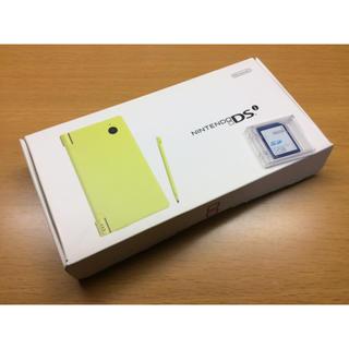 ニンテンドウ(任天堂)の任天堂 DS ライトグリーン おまけ付き(携帯用ゲーム本体)