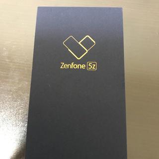 エイスース(ASUS)の新品 未開封 Asus z01RD ZS620KL Zenfone5Z シルバー(スマートフォン本体)