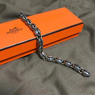 エルメス(Hermes)のエルメス シルバー ブレスレット hermes シェーヌダンクル silver(ブレスレット)