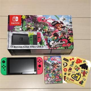 ニンテンドースイッチ(Nintendo Switch)の任天堂switch スプラトゥーン2セット(その他)