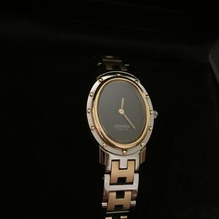 エルメス(Hermes)のエルメス クリッパー オーバル CO1.220(腕時計)