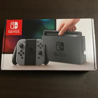 ニンテンドースイッチ(Nintendo Switch)の新品☆ 傷み有 Nintendo Switch 本体 グレー(家庭用ゲーム本体)