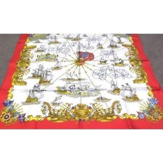 エルメス(Hermes)の美品  『HERMES』 VOILES DE LUMIERE大判スカーフ(バンダナ/スカーフ)